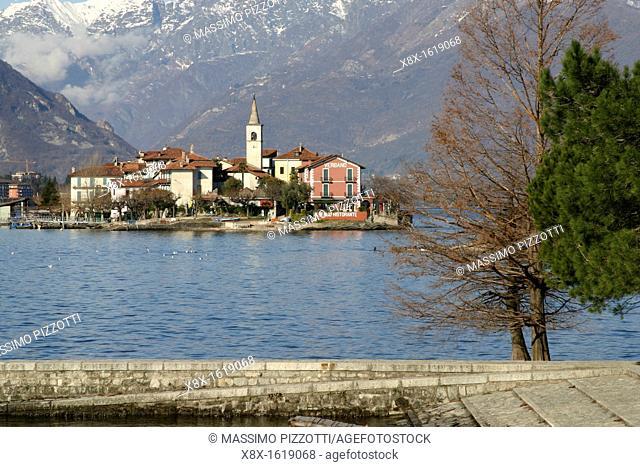 The fishermen island, Lake Maggiore, Italy