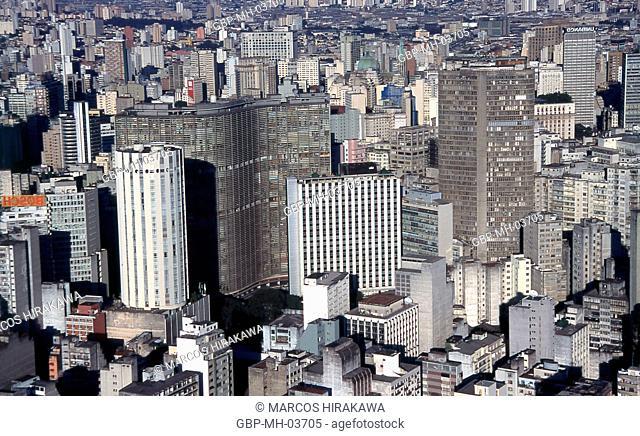 Building Italy; Copan Building; Hilton Building; Center; Sao Paulo; Brazil