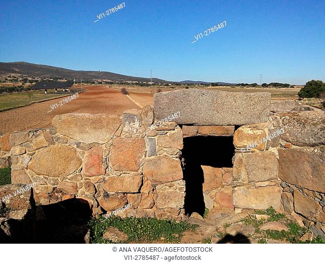 protohistóricas ruins of Hijovejo, Badajoz, Extremadura, Spain