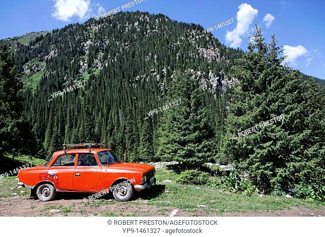 Kyrgyzstan - Jeti Oghuz Valley - Svetov Dolina, the Valley of Flowers