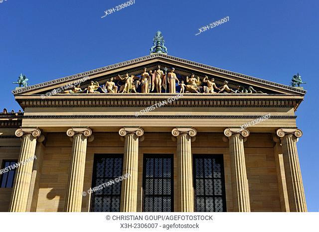 Philadelphia Museum of Art, Philadelphia, Commonwealth of Pennsylvania, Northeastern United States,