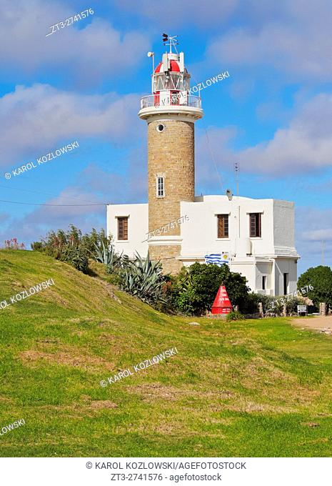 Uruguay, Montevideo, View of the Punta Brava Lighthouse
