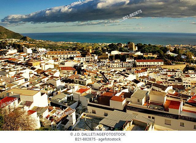 Mijas, Costa del Sol. Malaga province, Andalusia, Spain