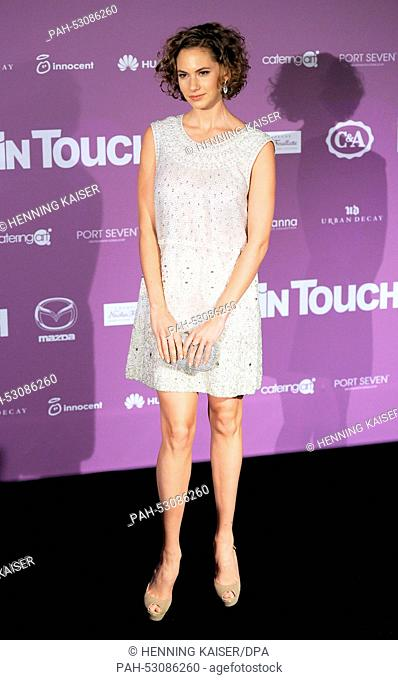 Us american model Emma Ferrer attends the event of the InTouch Award 2014 in Duesseldorf, Germany, 23 October 2014. Photo: Henning Kaiser/dpa   usage worldwide
