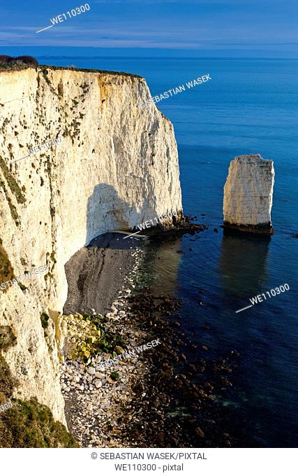 The Pinnacles on Dorset's Jurassic Coast, Studland, Dorset, United Kingdom, Europe