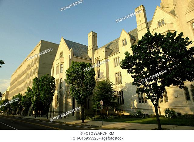 New Haven, CT, Connecticut, Yale University, Sheffield-Sterling Memorial Library, Sterling Strathcona Hall