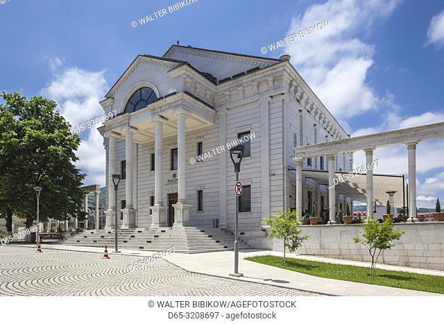 Nagorno Karabakh Republic, Stepanakert, Vallex Garden Hotel, exterior