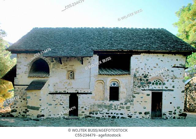 Church of Aglos Nikolaos Tis Stegis in Kakopetria. Solea Valley. Troodos. Cyprus