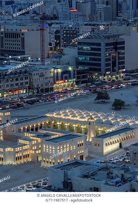 Mosque in Old Doha, Doha, Qatar