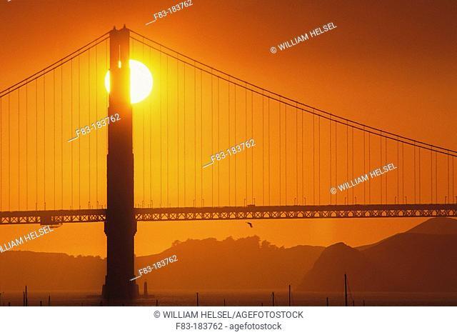 Golden Gate Bridge. San Francisco. California. USA