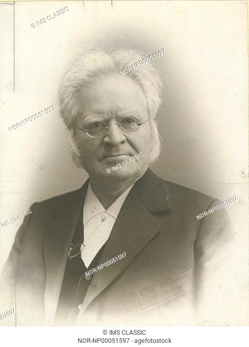Portrait of Björnson Björnstjerne