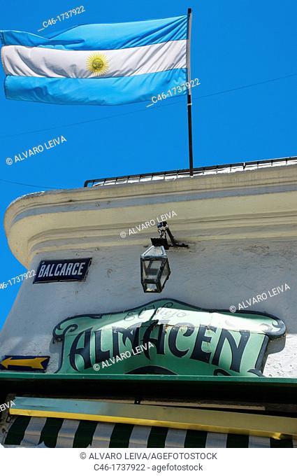 El Viejo Almacen tango restaurant and show, San Telmo District, Buenos Aires, Argentina