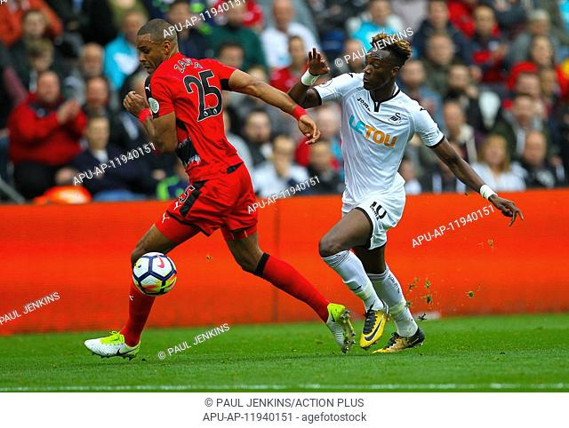 2017 EPL Premier League Swansea City v Huddersfield Oct 14th. 14th October 2017, Liberty Stadium, Swansea, Wales; EPL Premier League football