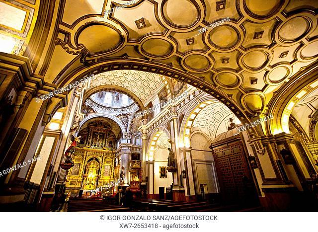 Collegiate Church of Saints Justo and Pastor in Granada (Andalusia, Spain, Europe)