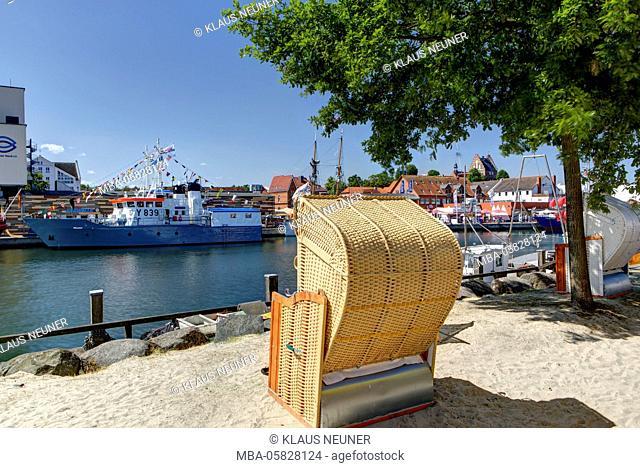 Boats, harbour, municipal harbour, Heiligenhafen, Schleswig - Holstein, Germany