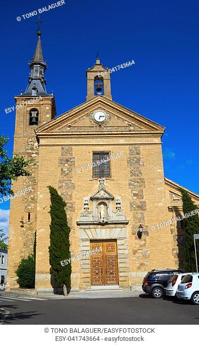 Burguillos de Toledo in Castile La Mancha of Spain