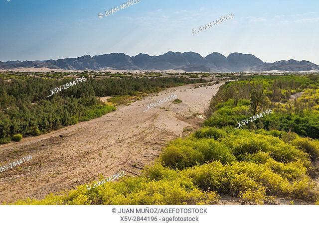 Hoanib river. Namibia. Africa