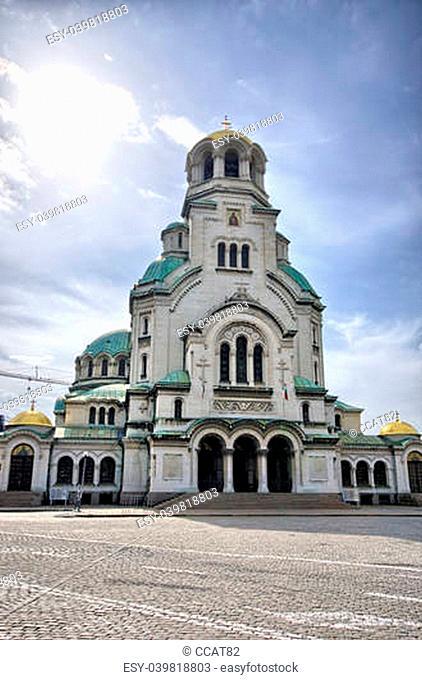 St Nedelya Church in Sophia, Bulgaria