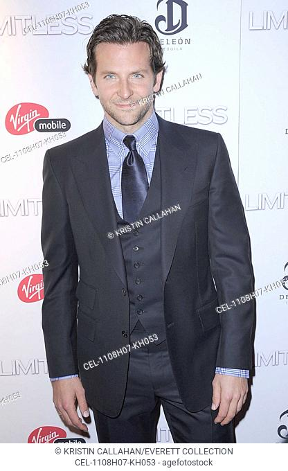 Bradley Cooper at arrivals for LIMITLESS Premiere, Regal Union Square Stadium 14 Theater, New York, NY March 8, 2011. Photo By: Kristin Callahan/Everett...