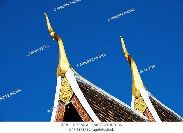 Laos, Luang Prabang province, city of Luang Prabang, World heritage of UNESCO since 1995, Wat Xieng Thong temple