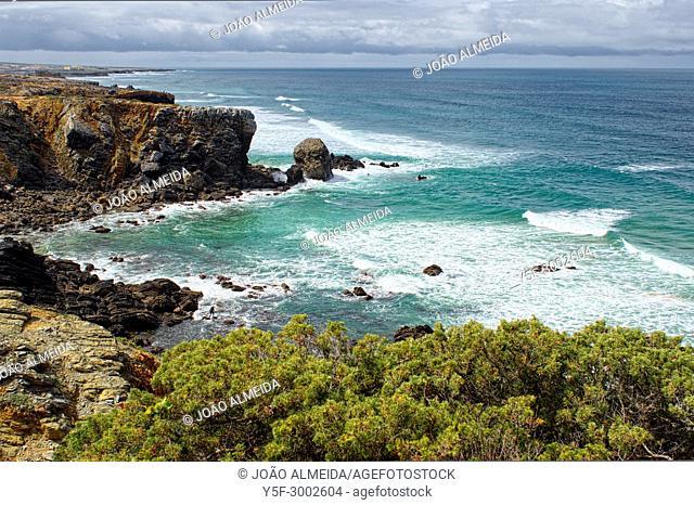 The shoreline of the Sintra Cascais protected area