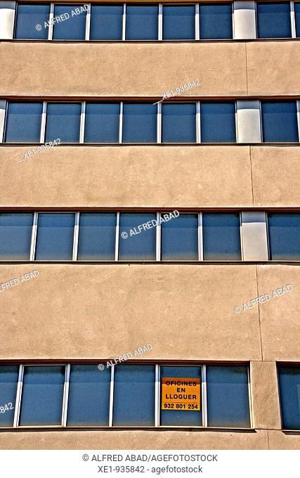 Rental offices, Zona Franca avenue, Barcelona, Catalonia, Spain