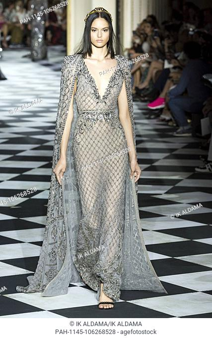 Zuhair Murad Couture runway during Haute Couture July 2018. Autumn - Winter 2018-19 Collection. Paris, France. 04/07/2018 | usage worldwide