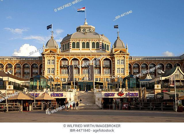 Spa hotel, promenade, Scheveningen, The Hague, Holland, Netherlands