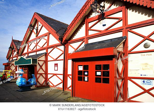 The Pier Saltburn Cleveland England
