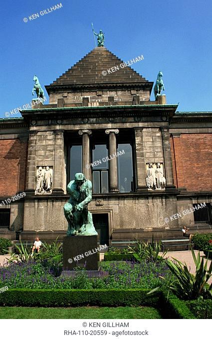Sculpture Museum, Ny Carlsbergs Glyptotek, Copenhagen, Denmark, Scandinavia, Europe