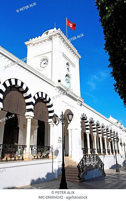 Tunisia, Tunis, finance department