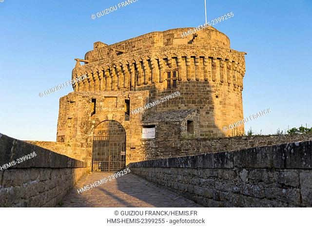 France, Cotes d'Armor, Dinan, the medieval castle, keep of the Duchess Anne