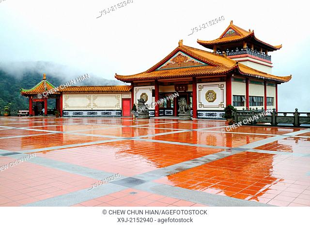 Genting Highlands, Ching Swee Temple after rain, Malaysia