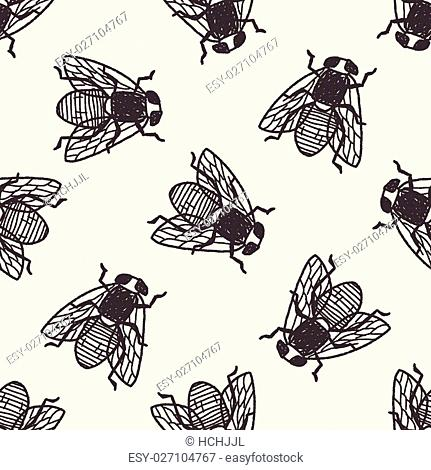 fly bug doodle