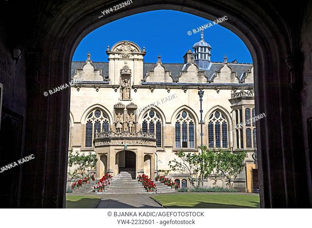 Oriel College, Oxford, England, UK