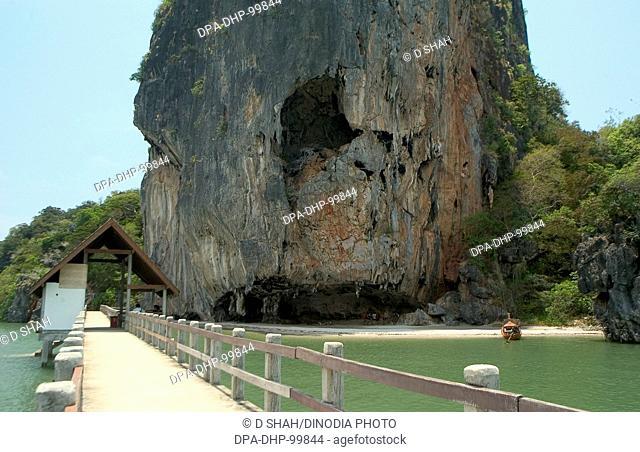 James Bond Island , Phang Nga Bay , Phuket , Thailand