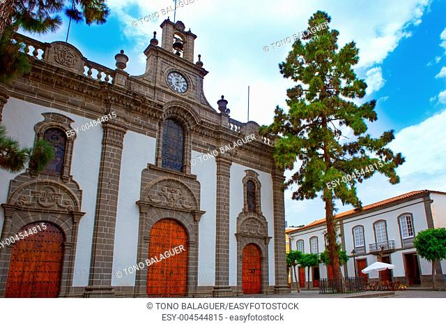 Gran Canaria Teror church Basilica Nuestra senora del Pino in Canary Islands