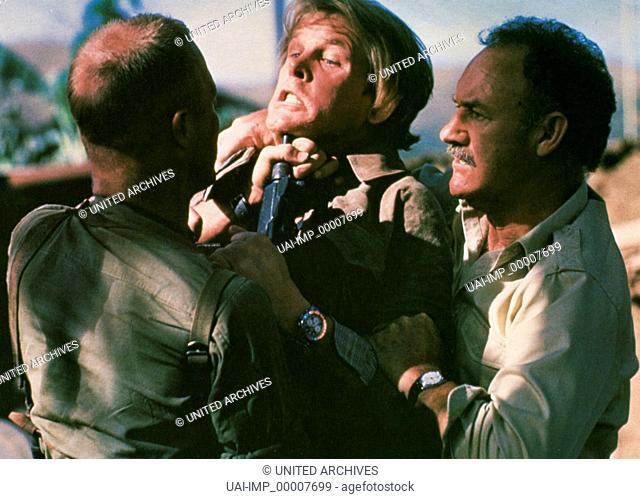 Under Fire, (UNDER FIRE) USA 1982, Regie: Roger Spottiswoode, NICK NOLTE, GENE HACKMAN, Stichwort: Auseinandersetzung, Angriff, Konflikt