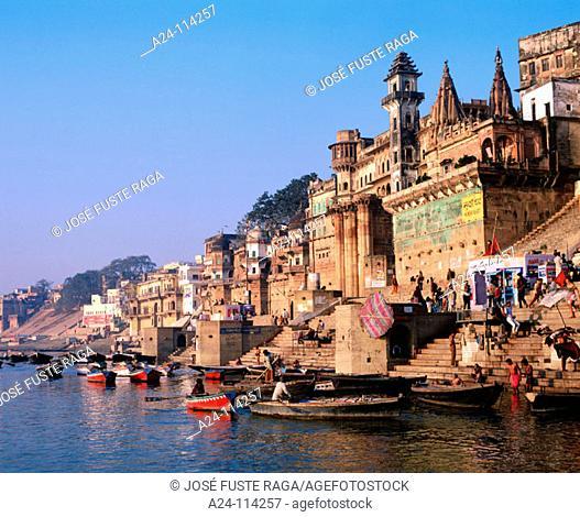 Ganges River. Benares. India