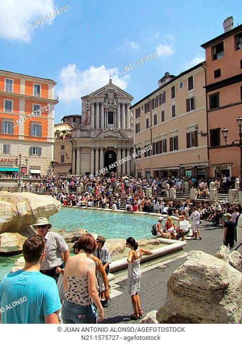 Fontana di Trevi, Rome, Lazio, Italy, Europe