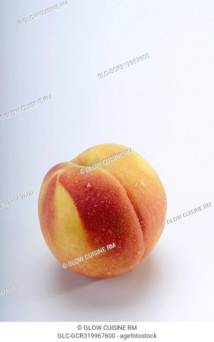 Close-up of a peach