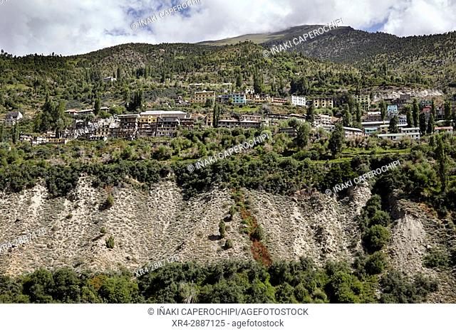 Keylong, Lahaul Valley, Himachal Pradesh, India
