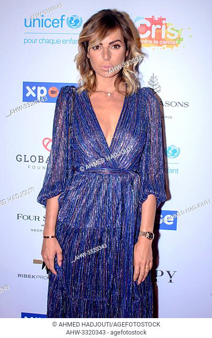 PARIS, FRANCE - JUNE 03: Hillary Vanderosieren attend the Global Gift Gala 2019 at Four Seasons Hotel George V on June 03, 2019 in Paris, France