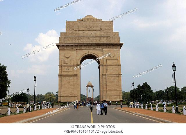 India Gate, New Delhi, Delhi, India / India Gate, Neu-Delhi, Delhi, Indien