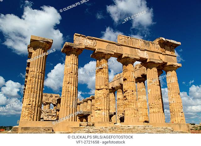 Europe, Italy, Sicily, Province of Trapani. Selinunte Temple