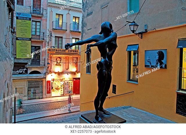 Dali sculpture, Figueres, Catalonia, Spain