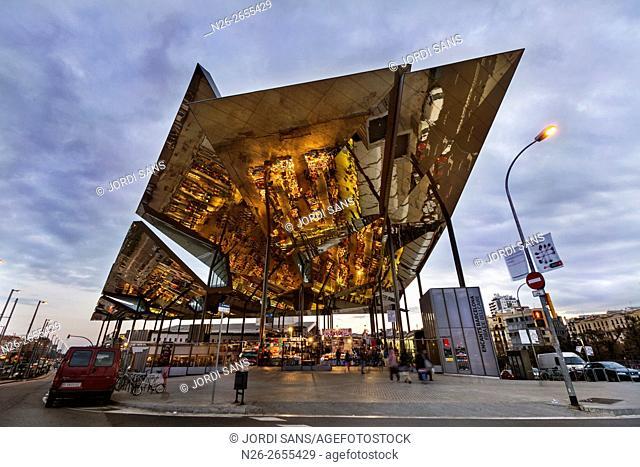 Els Encants market. Mercat de Bellcaire. Barcelona. Fermin Vazquez architect