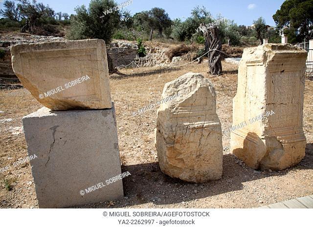 Necropolis Puig Des Molins Headstones in Ibiza Old Town - Ibiza