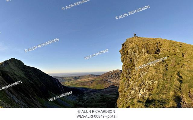 UK, North Wales, Snowdonia, Nantlle Ridge