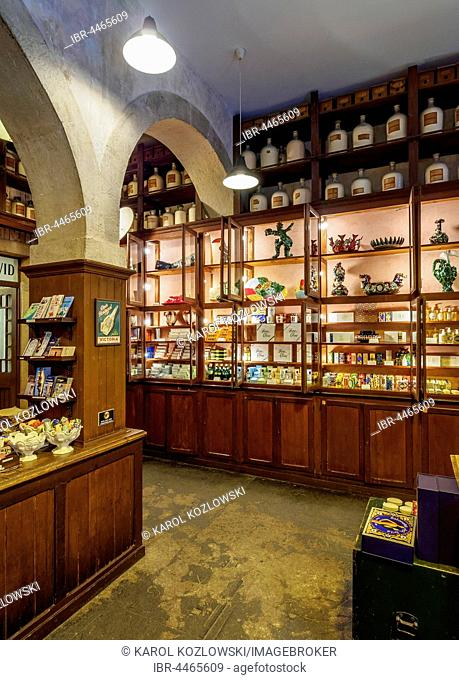 A Vida Portuguesa Shop, interior view, Rua Anchieta 11, Chiado, Lisbon, Portugal